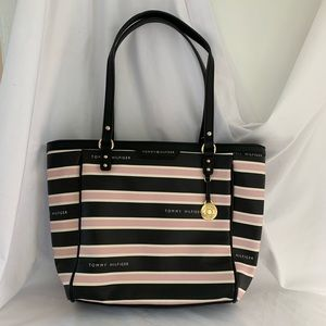 Striped Tommy Hilfiger Handbag